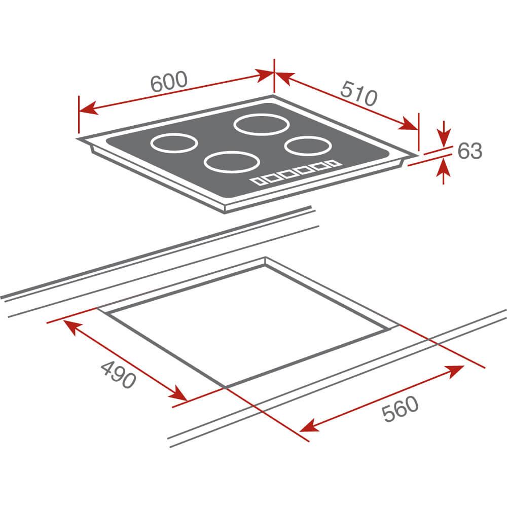 TEKA TZ 6420 Drawing