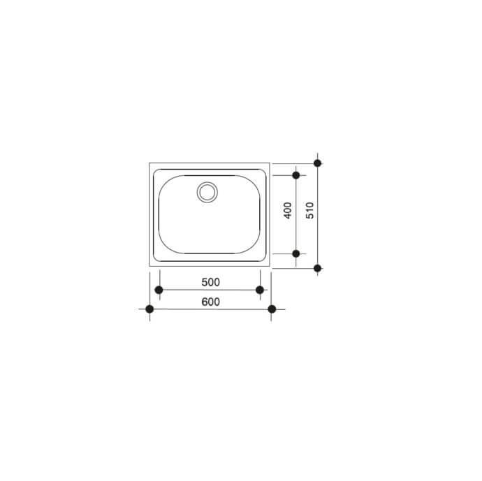 TEKA E 60 1C (60X51) 2