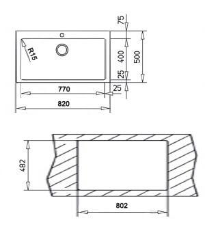 TEKA INTRO 82 1C (82X50) 2