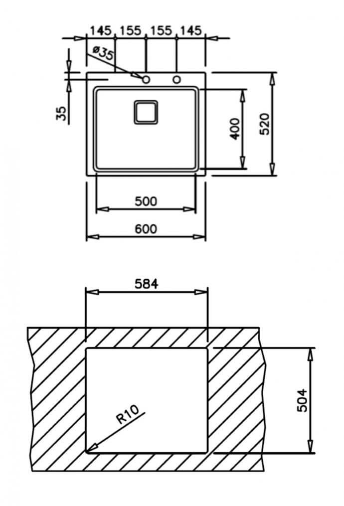 TEKA ΖΕΝΙΤ 1C R15 (60X52) 3
