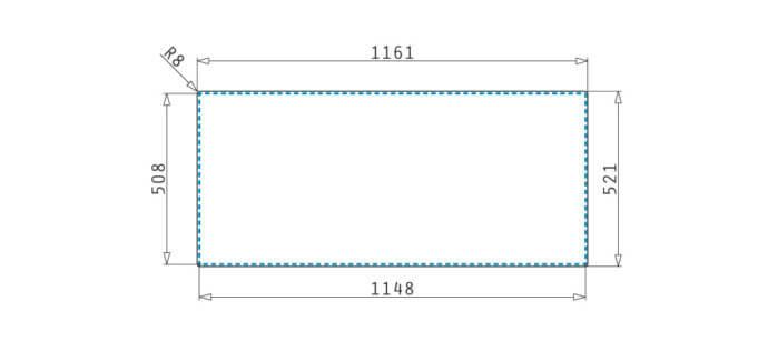 PYRAMIS ΑΝΟΞΕΙΔΩΤΟΣ ΝΕΡΟΧΥΤΗΣ OLYNTHOS (116X52) 2B 1D RH 3