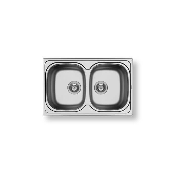 PYRAMIS ΑΝΟΞΕΙΔΩΤΟΣ ΝΕΡΟΧΥΤΗΣ SPARTA (79X50) 2B ΣΑΤΙΝΕ 1