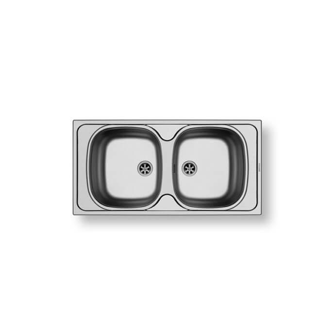 PYRAMIS ΑΝΟΞΕΙΔΩΤΟΣ ΝΕΡΟΧΥΤΗΣ E33/33 (86X43,5) ΣΑΤΙΝΕ 1