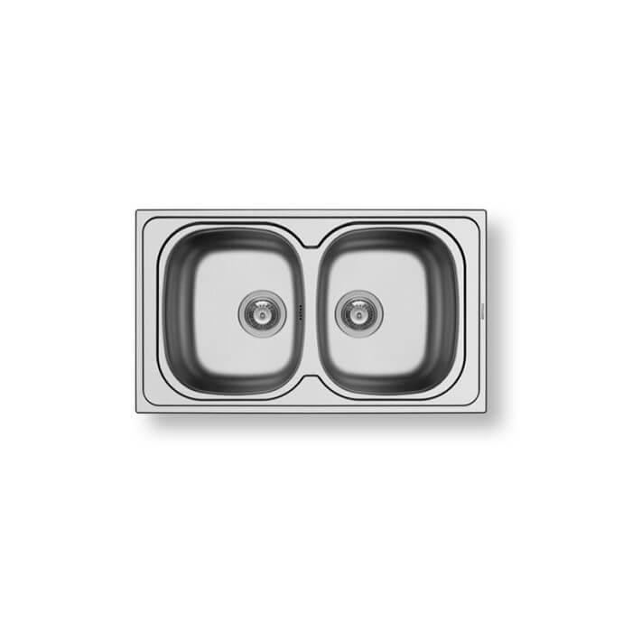 PYRAMIS ΑΝΟΞΕΙΔΩΤΟΣ ΝΕΡΟΧΥΤΗΣ SPARTA (86X50) 2B ΣΑΤΙΝΕ 1