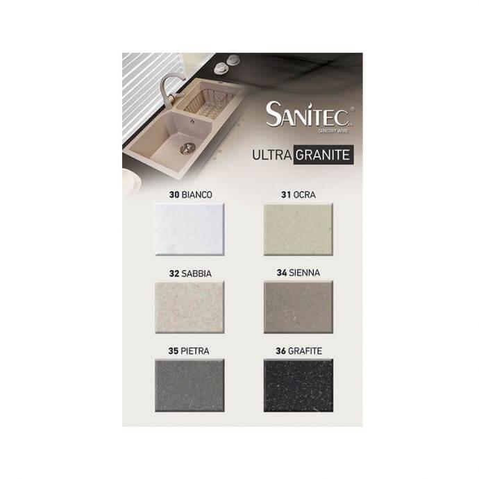 SANITEC ULTRA GRANITE No 807 1B 1D OCRA (79X50) 3