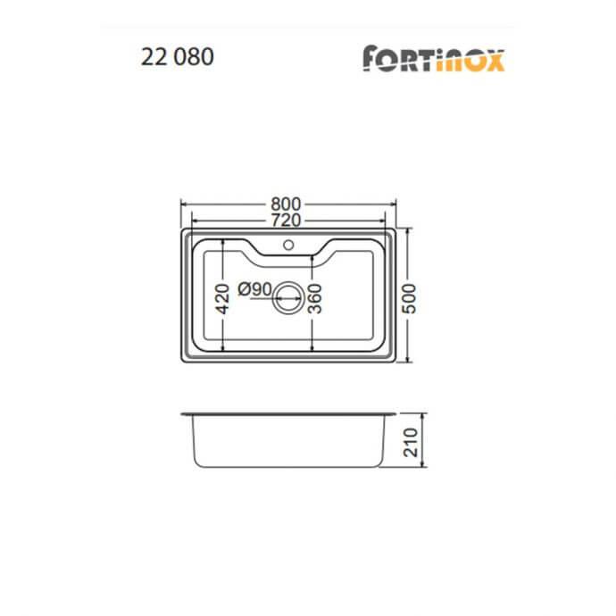 FORTINOX ARENA ΕΝΘΕΤΟΣ No 22080 ΛΕΙΟ (80x50) 4