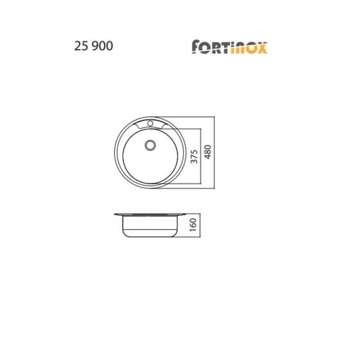 FORTINOX VALLEY ΕΝΘΕΤΟΣ No 25900 ΛΕΙΟ (Φ48) 2