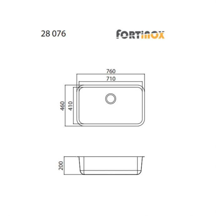 FORTINOX VALLEY ΕΝΘΕΤΟΣ No 28076 ΛΕΙΟ (76x46) 3