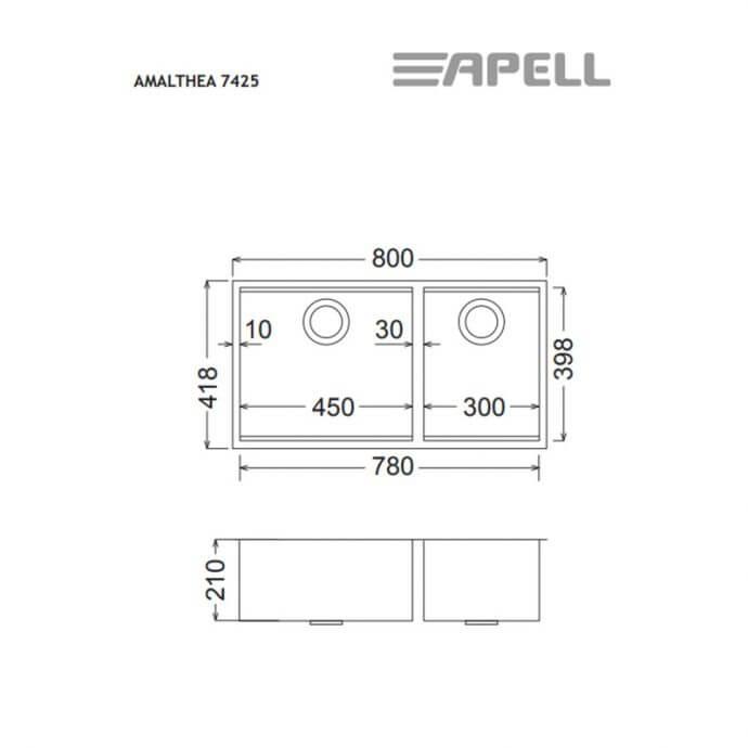 APELL AMALTHEA ΥΠΟΚΑΘΗΜΕΝΟΣ No 7425 ΛΕΙΟ (80x41,8) 2
