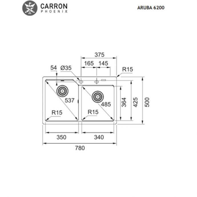 CARRON PHOENIX ARUBA ΕΝΘΕΤΟΣ No 6200 CAPPUCCINO (78x50) 2