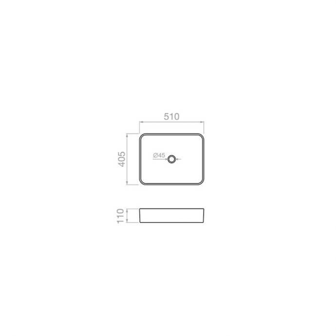 PYRAMIS ΝΙΠΤΗΡΑΣ ΜΠΑΝΙΟΥ ΕΠΙΚΑΘΗΜΕΝΟΣ NOLANA (51x40,5x11cm) 2