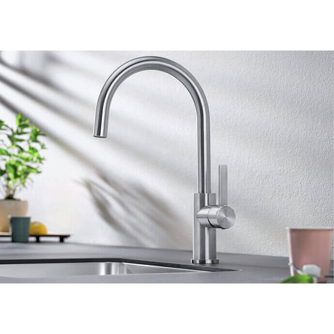 BLANCO ΜΠΑΤΑΡΙΑ ΚΟΥΖΙΝΑΣ CANDOR STAINLESS STEEL 2