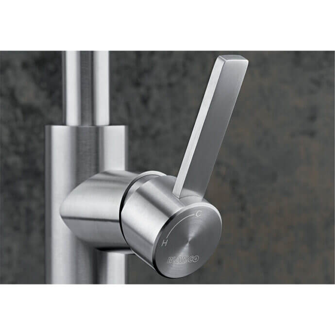 BLANCO ΜΠΑΤΑΡΙΑ ΚΟΥΖΙΝΑΣ CANDOR STAINLESS STEEL 5