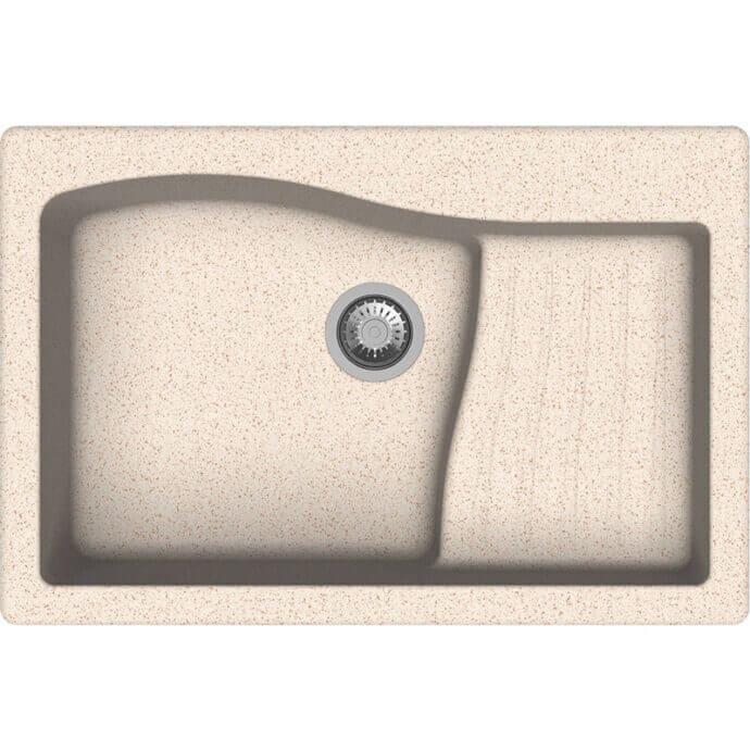 MACART ΓΡΑΝΙΤΕΝΙΟΣ ΝΕΡΟΧΥΤΗΣ ΕΝΘΕΤΟΣ MULTISPACE SABBIA (ΜΠΕΖ) 86x50cm 1