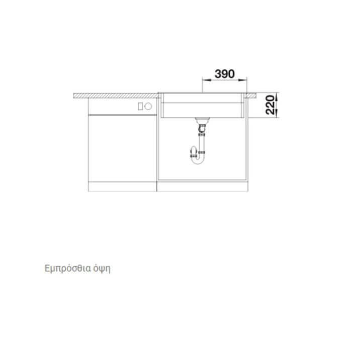 BLANCO ΓΡΑΝΙΤΕΝΙΟΣ ΝΕΡΟΧΥΤΗΣ ΕΝΘΕΤΟΣ ETAGON 8 SILGRANIT PURADUR TARTUFO (78x51) 5