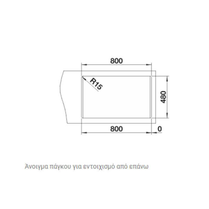 BLANCO ΑΝΟΞΕΙΔΩΤΟΣ ΝΕΡΟΧΥΤΗΣ ΕΝΘΕΤΟΣ LEMIS XL 8-IF ΛΕΙΟΣ (82x50) 4