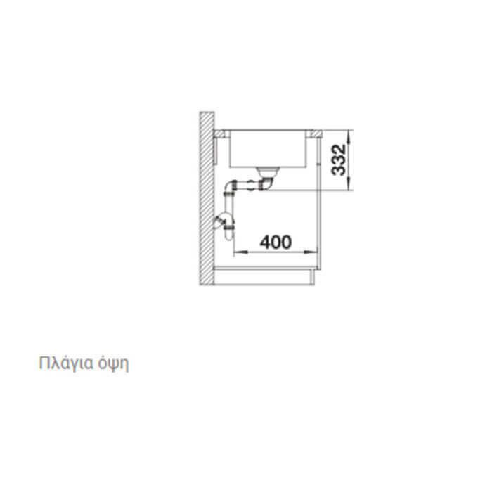 BLANCO ΑΝΟΞΕΙΔΩΤΟΣ ΝΕΡΟΧΥΤΗΣ ΕΝΘΕΤΟΣ LEMIS XL 8-IF ΛΕΙΟΣ (82x50) 6