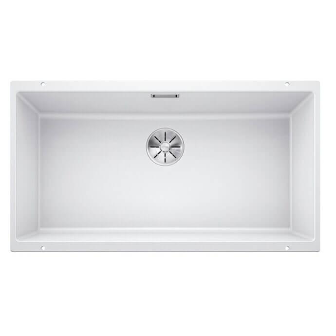 BLANCO ΓΡΑΝΙΤΕΝΙΟΣ ΝΕΡΟΧΥΤΗΣ ΥΠΟΚΑΘΗΜΕΝΟΣ SUBLINE 800-U SILGRANIT PURADUR WHITE (83x46) 1