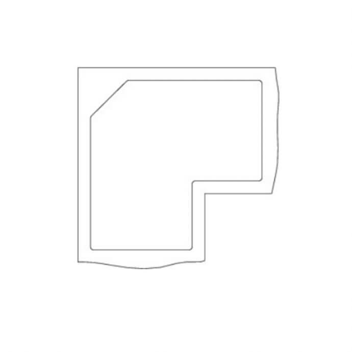 BLANCO ΓΡΑΝΙΤΕΝΙΟΣ ΝΕΡΟΧΥΤΗΣ ΕΝΘΕΤΟΣ METRA 9 E SILGRANIT PURADUR TARTUFO (83,5x83,5) 5